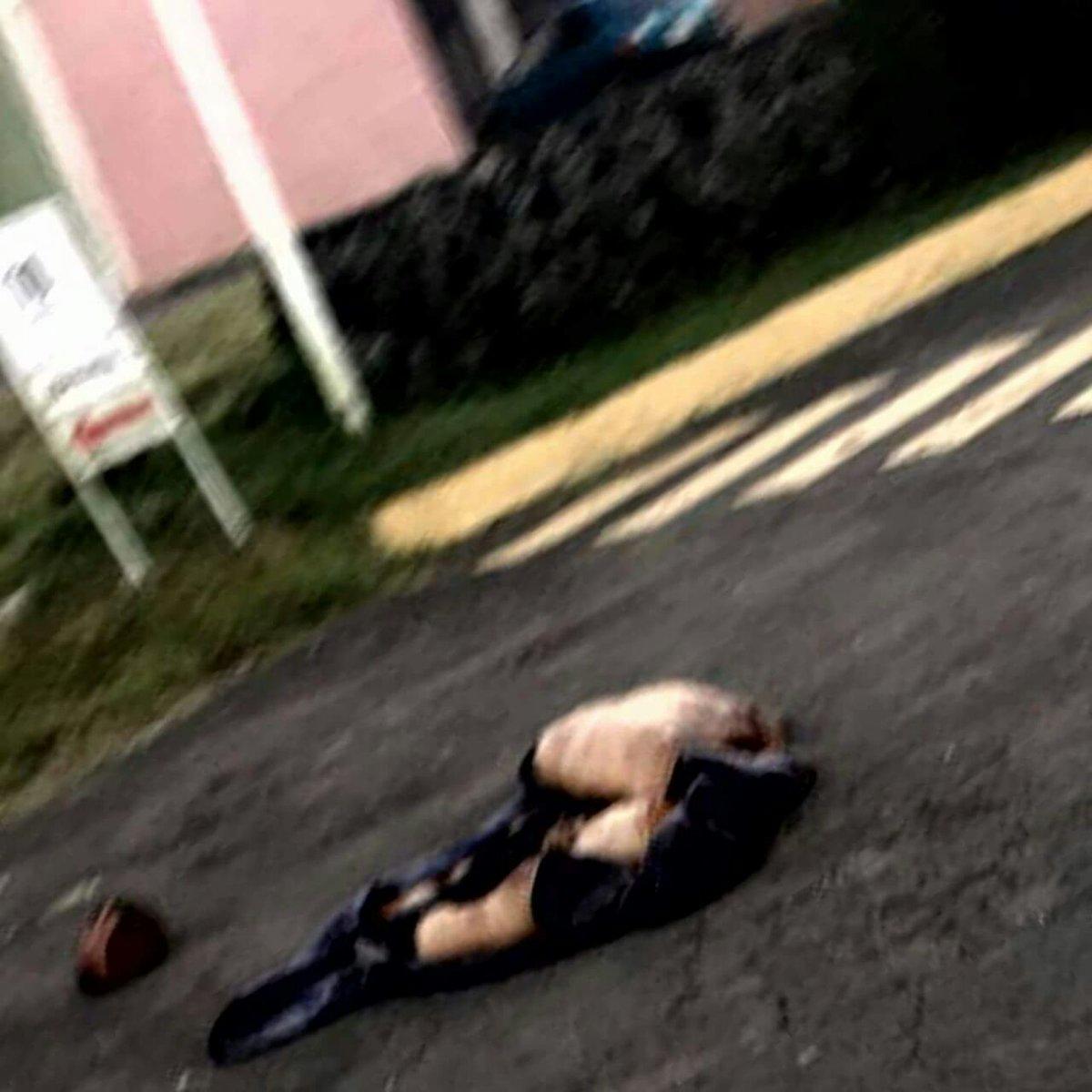 Peribán, Michoacán, Dejan cadáver descuartizado