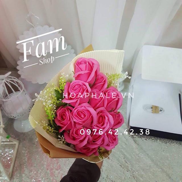Hoa hong sap thom vinh cuu o Hang Bac