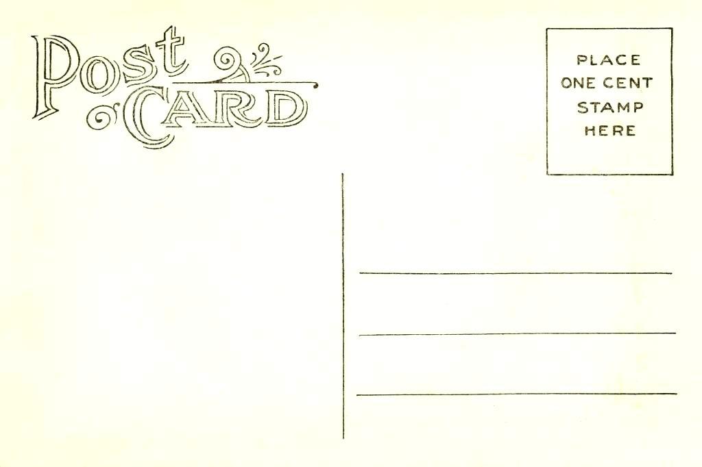 Своими, почтовая открытка на английский язык