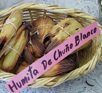 Humita de Chuño Blanco