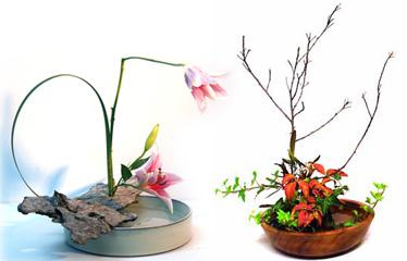 Estilos Principales De Los Arreglos Florales Ikebana