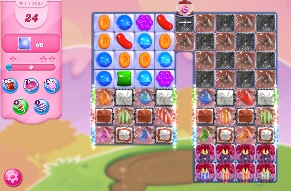 Candy Crush Saga level 5224