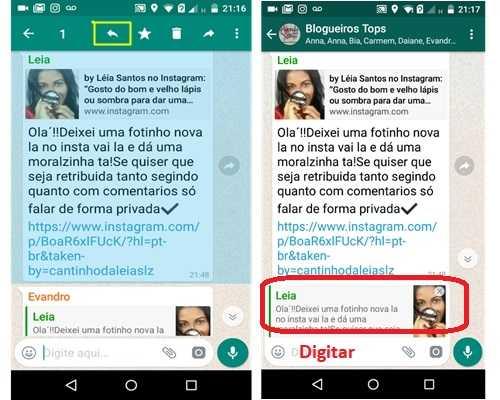 Whatsapp: Novo recurso para mensagens.