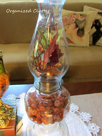Adding Autumn to an Oil Lamp