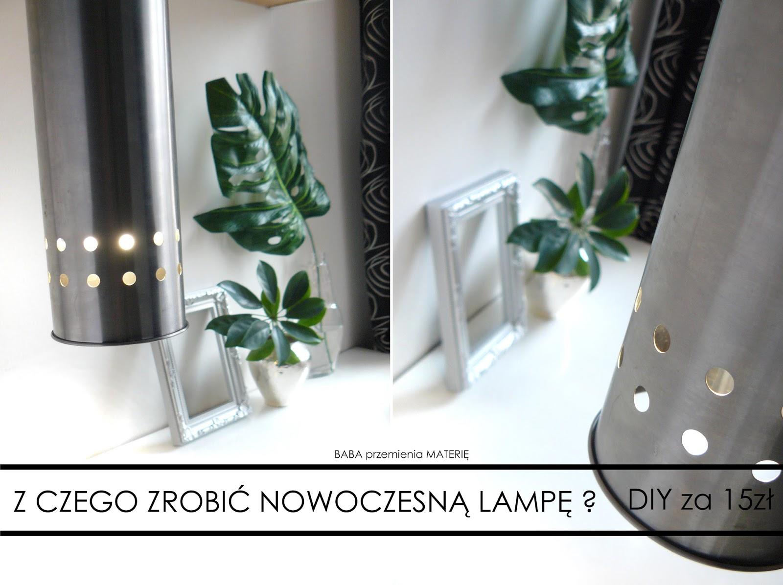 http://babaprzemieniamaterie.blogspot.com/2016/03/jak-zrobic-nowoczesna-stalowa-lampe-ze.html#more