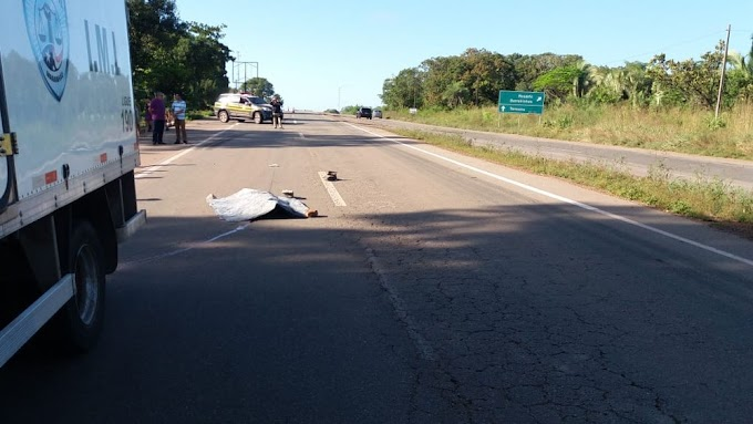 Duas pessoas morrem após acidentes na BR-135 no Maranhão