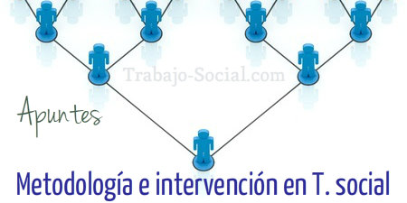 Metodología y niveles de intervención en trabajo social.