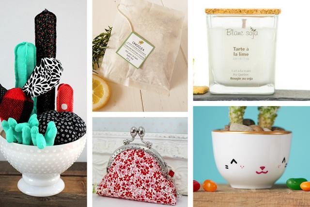 Idées cadeaux fêtes des mères Etsy artisanat québecois