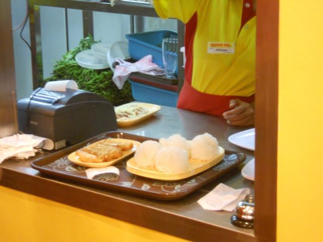 orders are ready at Chicken Deli