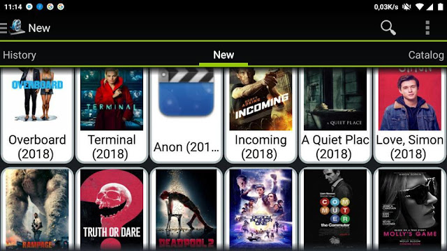 Filme online pe android