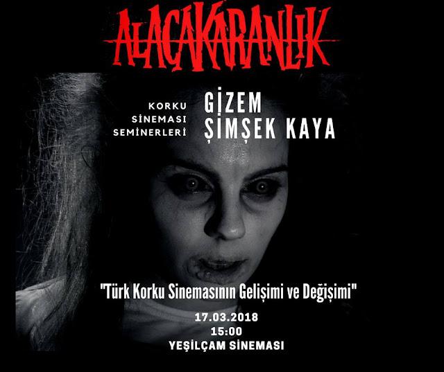 """Alacakaranlık Dergi, Gizem Şimşek Kaya ile """"Türk Korku Sineması"""" Konulu Seminer Düzenleyecek"""