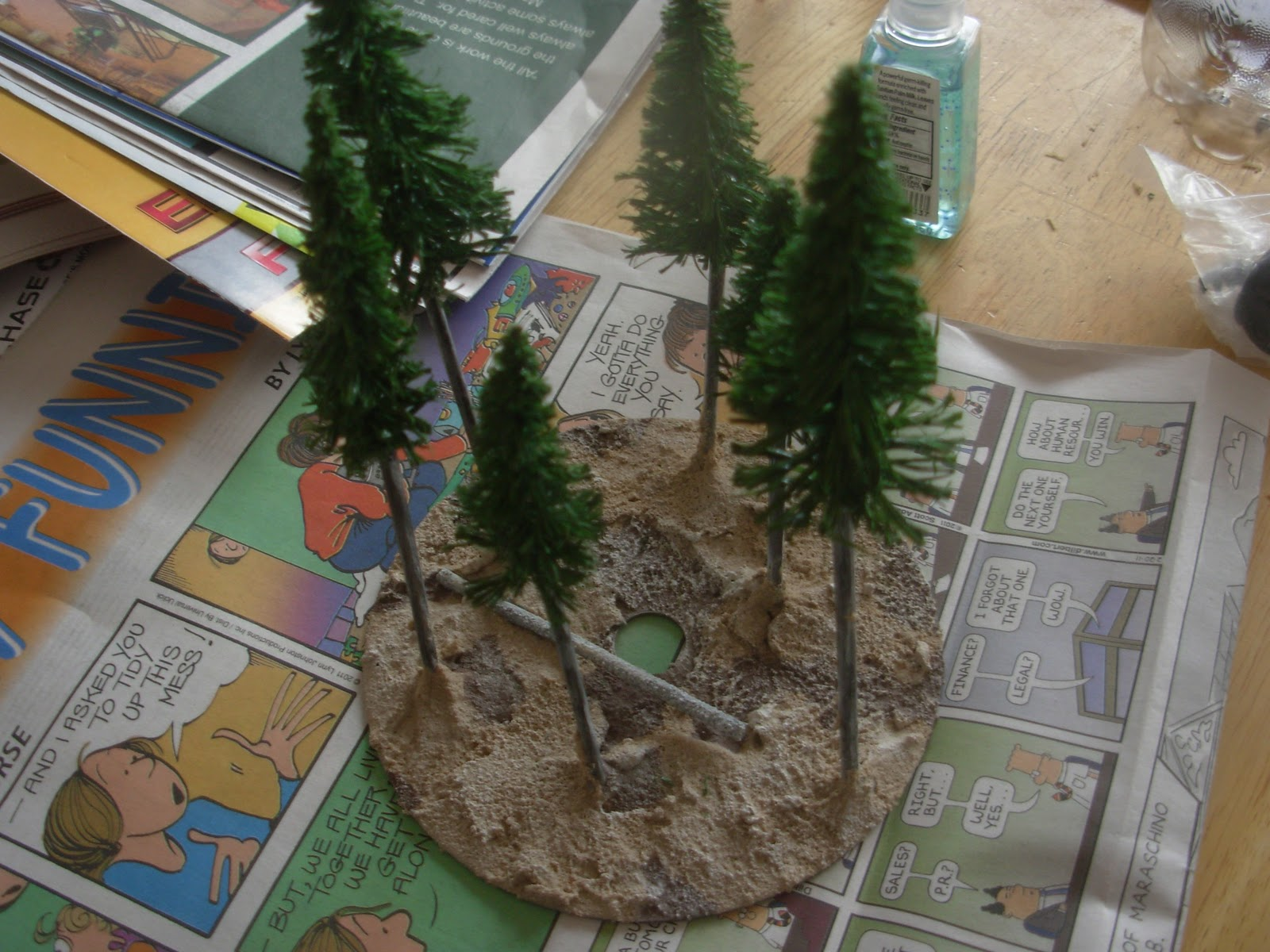 Help: Realistic Trees for an Old West Town