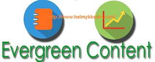 Buat konten ever green