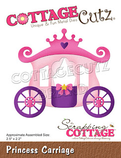 http://www.scrappingcottage.com/cottagecutzprincesscarriage.aspx