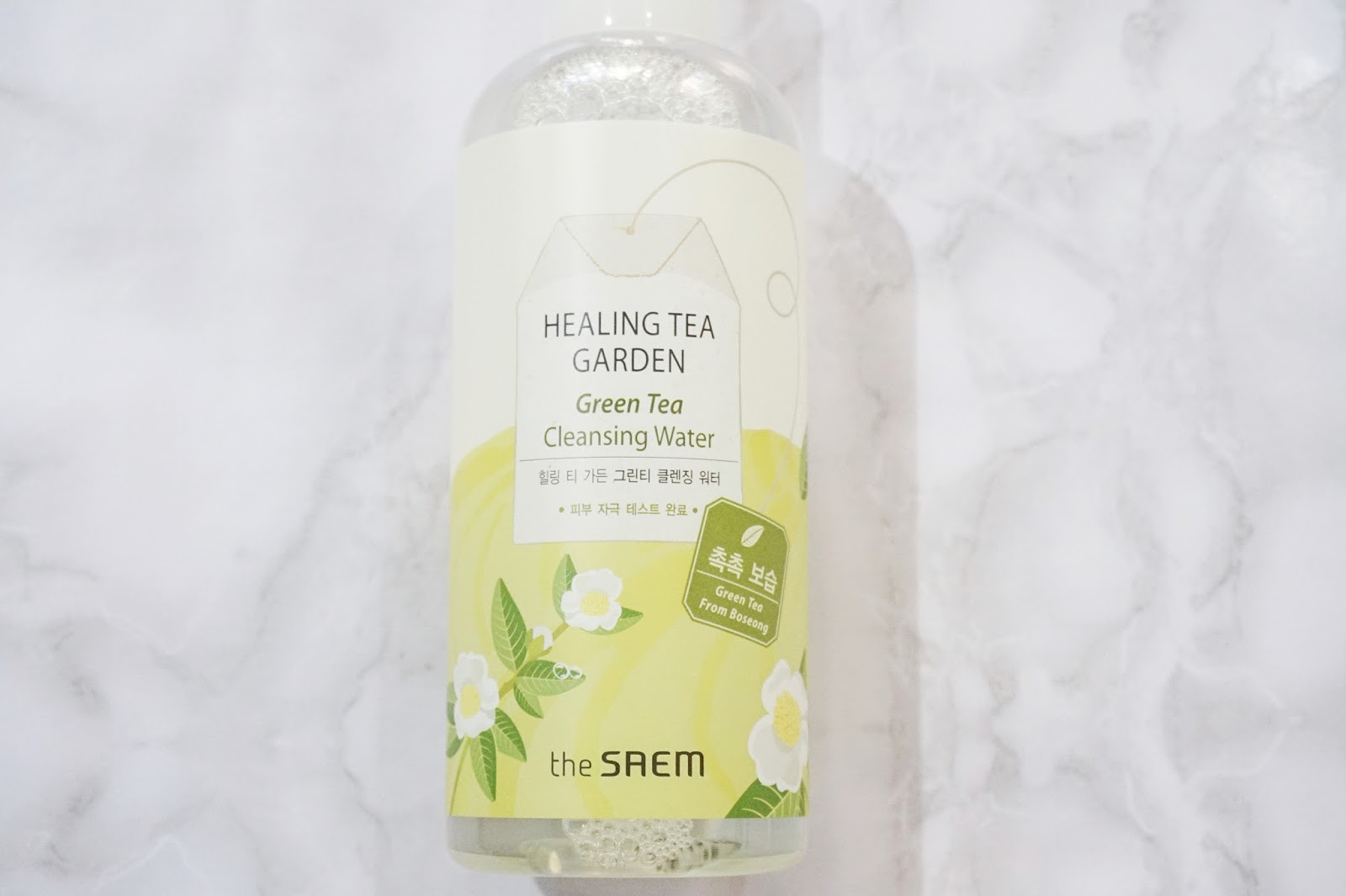 the saem green tea cleansing water
