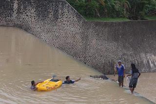 Mayat Tanpa Identitas Ditemukan di Dam Rontu