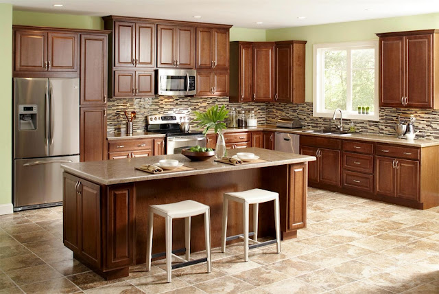 Classic Kitchen Cabinet from woods