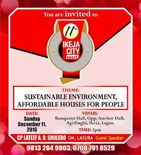 Ikeja City Award 2016 #IkejaCityAward2016 Loading…