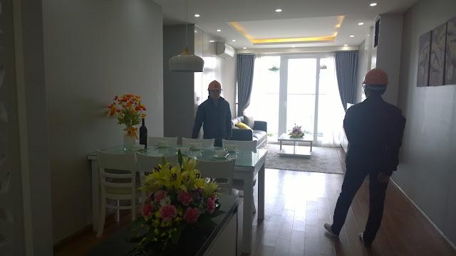 Không gian phòng khách Gemek Premium