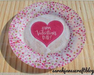 Valentine's Day Plate