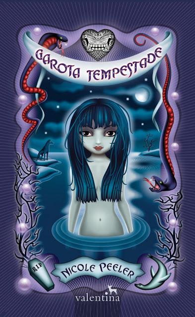 News: Capa do livro Garota Tempestade, de Nicole Peeler 6