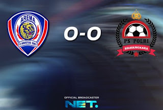 Arema Cronus vs PS Polri 0-0