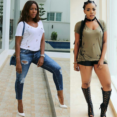 Image result for laura ikeji and linda ikeji
