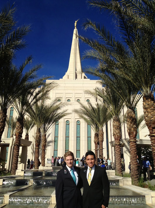 February 3, 2014 The Gilbert Temple is Beautiful