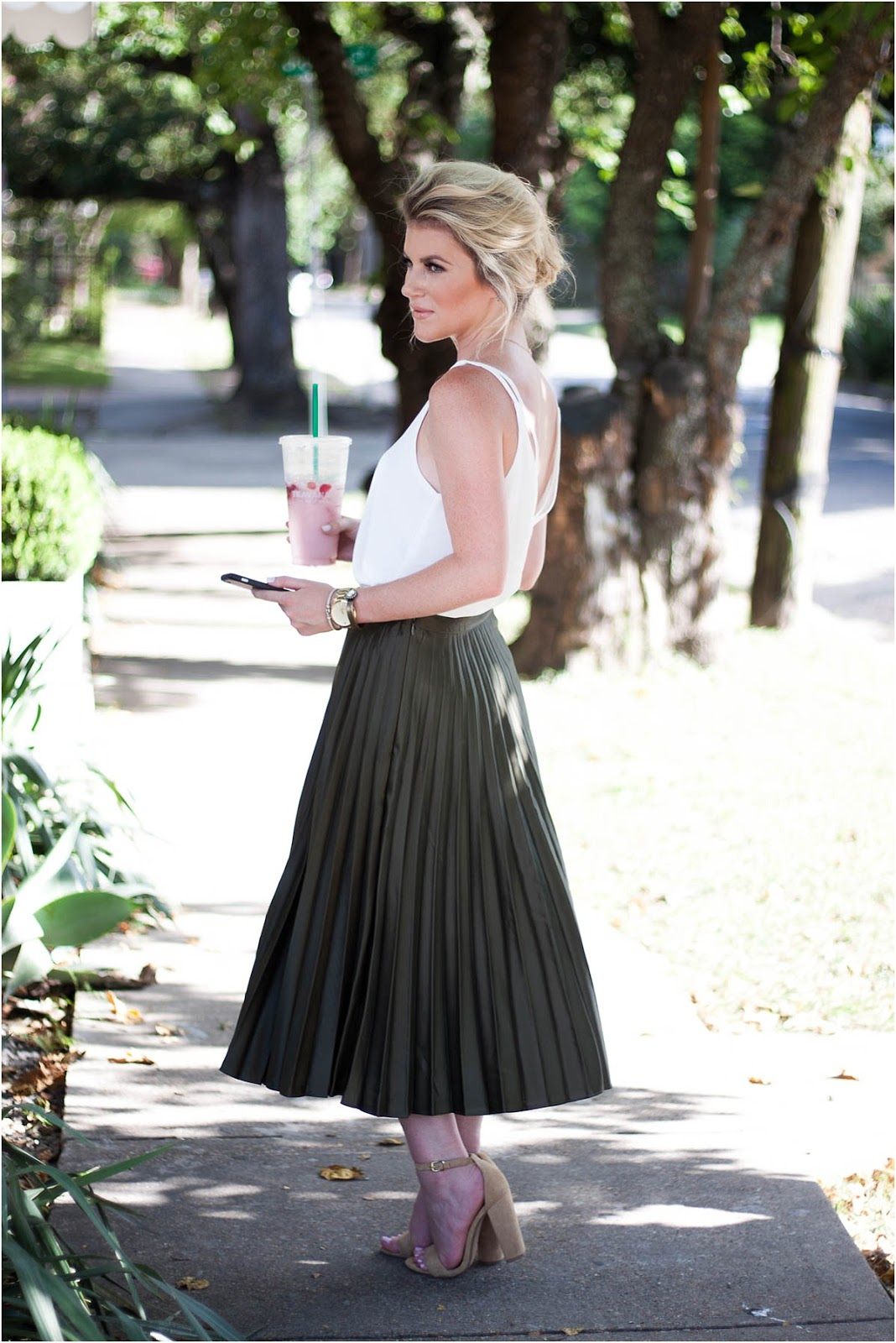 6bff67013de How To Care For A Pleated Skirt - Double Shot of Sass