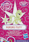 My Little Pony Wave 17 Banana Fluff Blind Bag Card