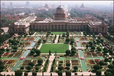 Lutyen's Mughal Garden (landscapelover.wordpress.com)