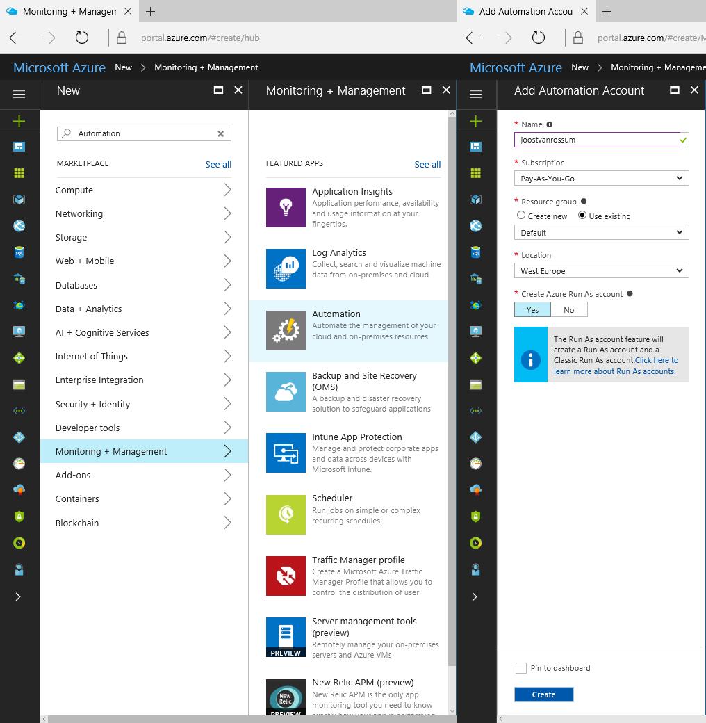 Microsoft BI Tools: Schedule Start of Azure Virtual Machine