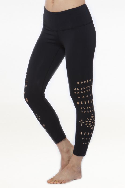 KiraGrace's Warrior Laser-Cut Leggings