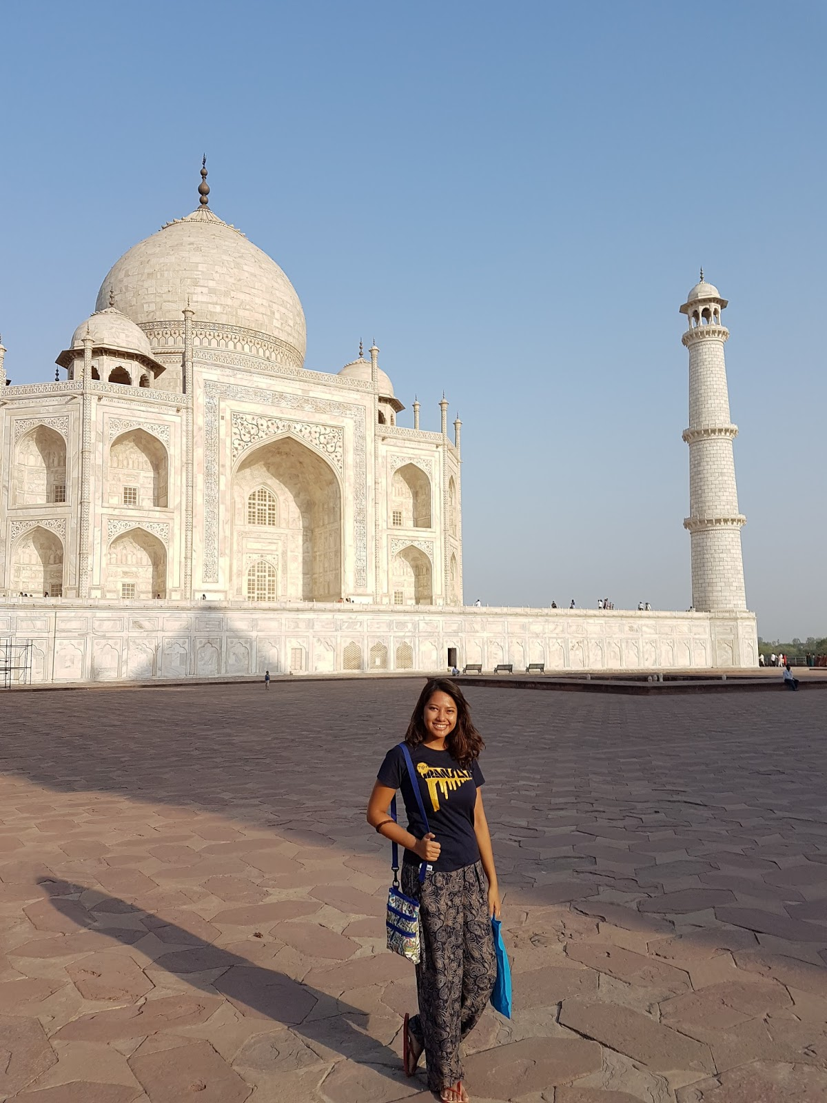 Behind Taj Mahal - Is Taj Mahal Worth Visiting or Overrated - Ummi Goes Where?