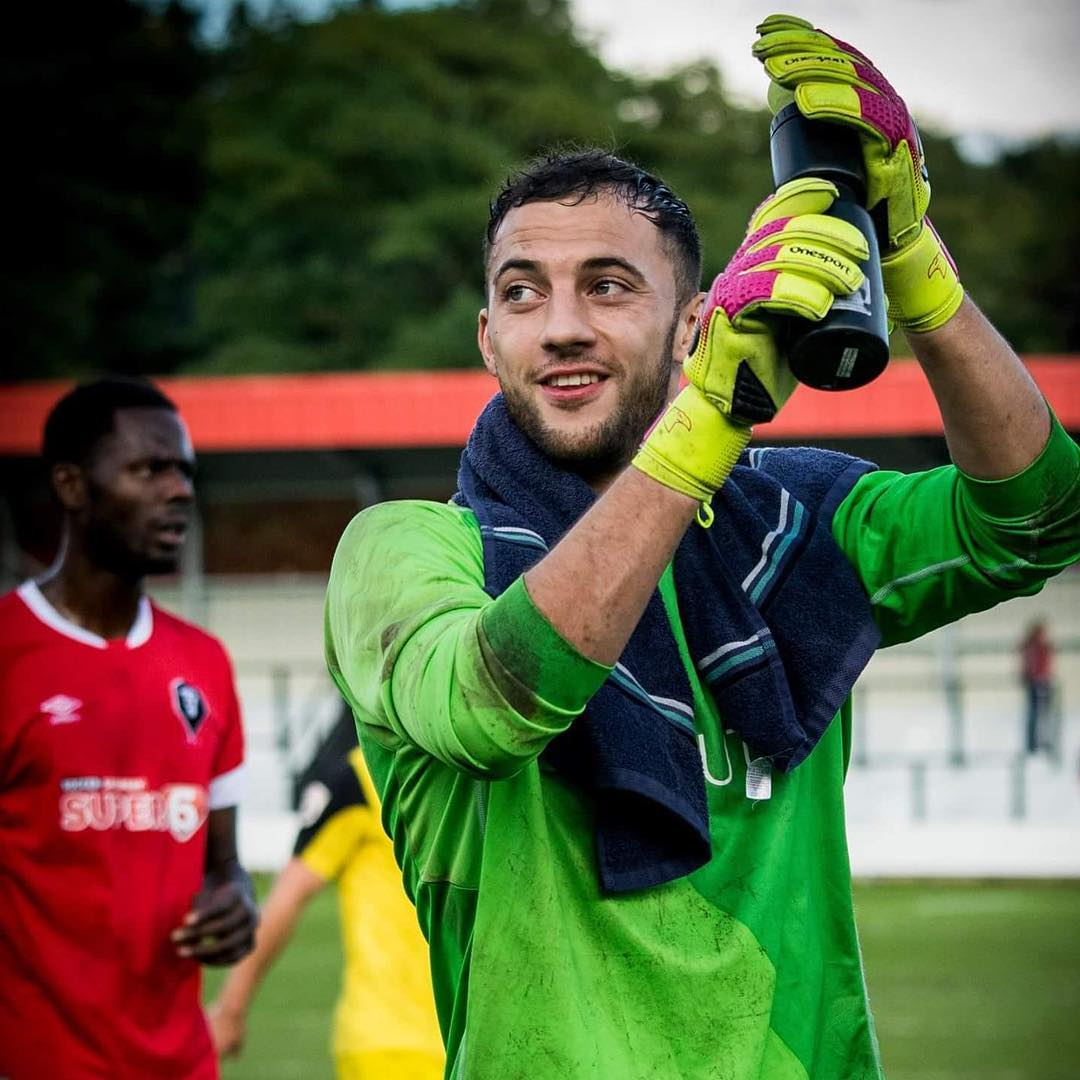 Salford goalkeeper Max Crocombe hits the headlines for the wrong reasons