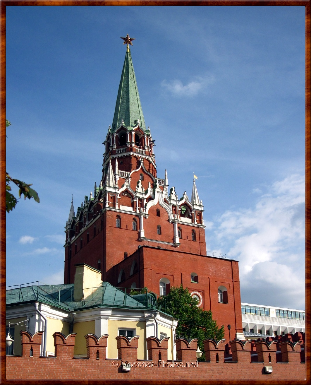 Trinity Tower of the Moscow Kremlin