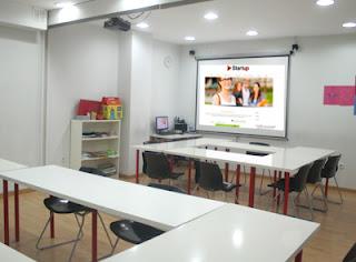 Escola idiomes a Horta-Guinardó, Start Up