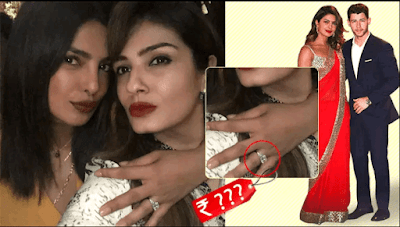 This Is Cost Of Priyanka Chopra's Engagment Ring