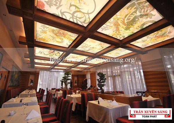 Mẫu trần nhà hàng cách tân 2