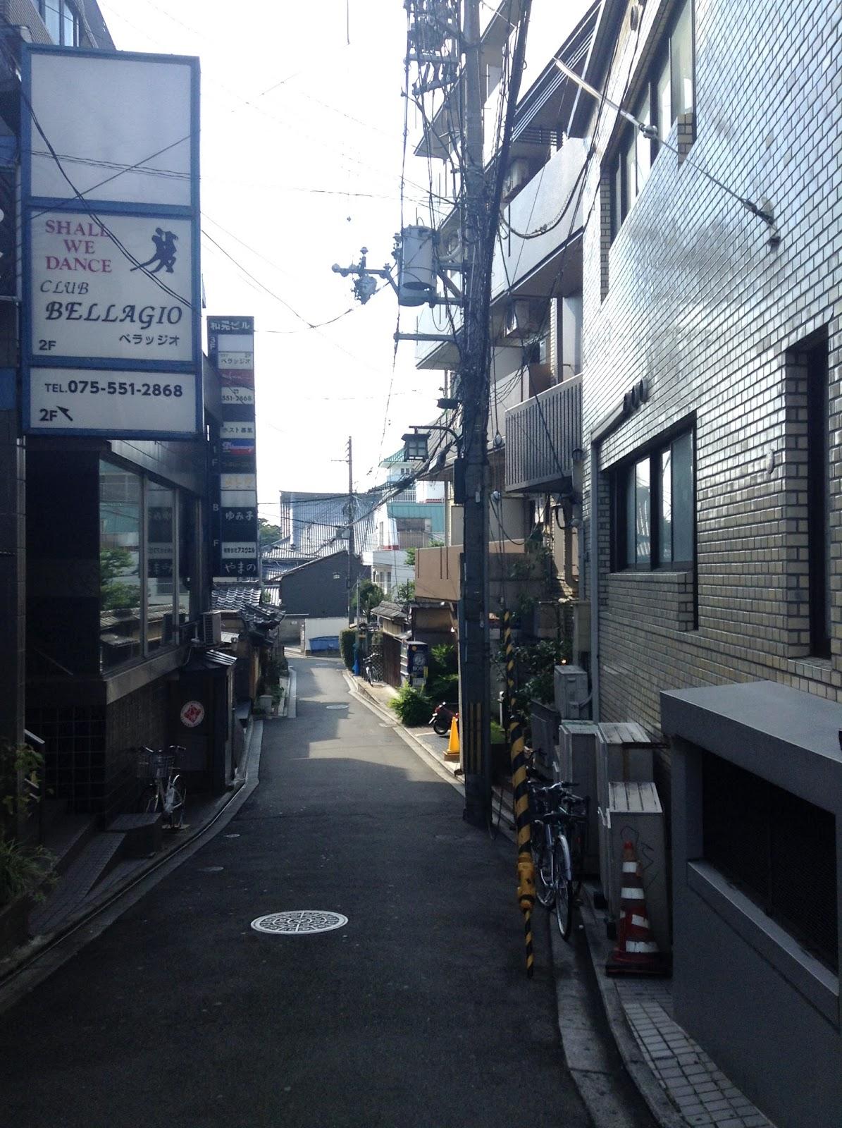 Kyoto Japan side street
