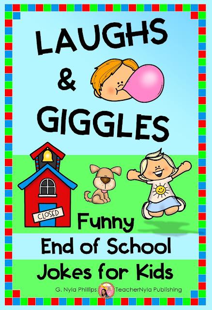 End of School Year Joke Book for Kids