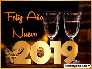 Tarjetas para Año Nuevo 2019