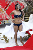 Priyanka Chopra in Bikini at a el pool  12 ~  Exclusive.jpg