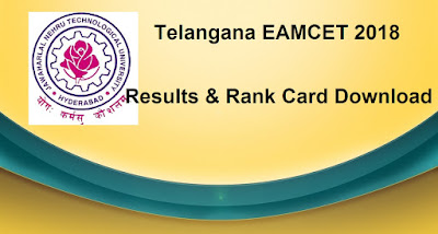 TS EAMCET Results 2018, Manabadi Schools9 Eamcet 2018 Rank Card
