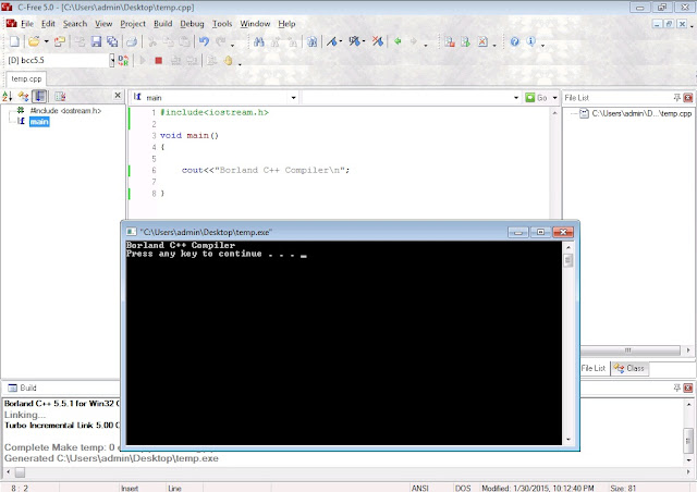 Borland C++ Free Download