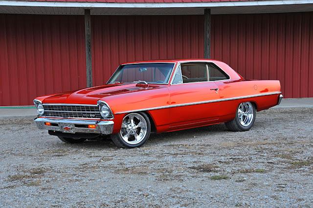 1967 Chevrolet Nova Twin Turbo Pro-Street - #Chevrolet #Nova #Twin #Turbo #ProStreet #classiccar #musclecar