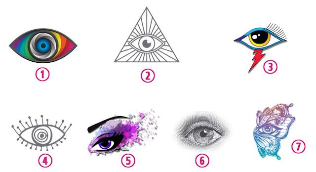 Test: Elige uno  de estos ojos y descubre ese algo especial