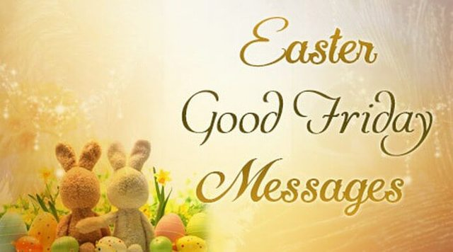 Easter Good Friday 2019 SMS