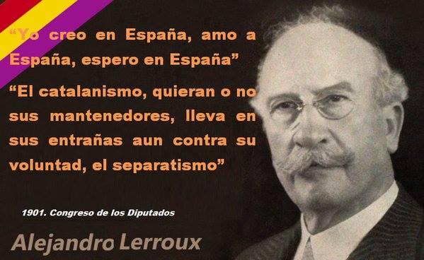 Yo creo en España, amo a España, espero en España