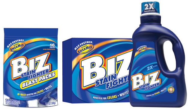 Fight Stains With The Concetrated Power of BIZ!
